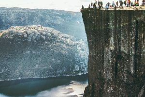 Preikestolen Pulpit Rock in Norway