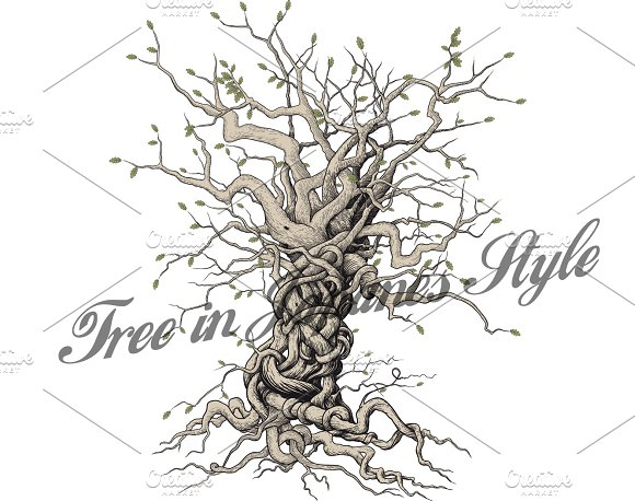 interlaced tree