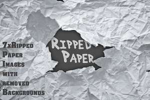 Ripped Paper Bundle