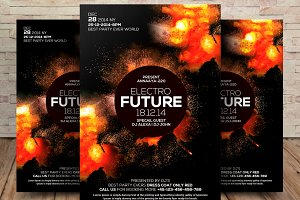 Future Sounds Flyer