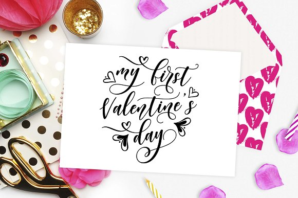 My First Valentine S Day Svg Dxf Png Creative Daddy