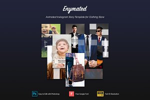 Enymated - Animated Instagram Story