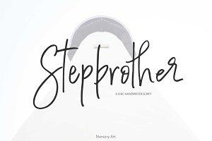 Stepbrother | Chic Script Font