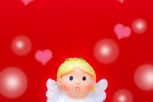 the cupid doll on valentine's day