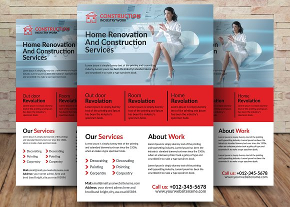 Home Construction Flyer