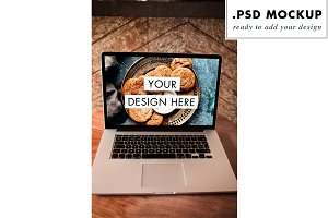web design PSD mock up