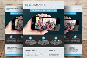 Smart Phone Business Flyer