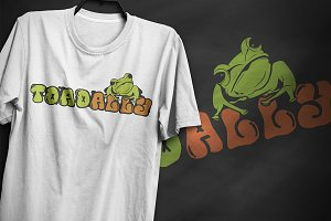 Toadally - T-Shirt Design