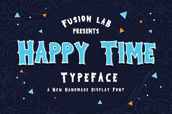Happy Time Typeface