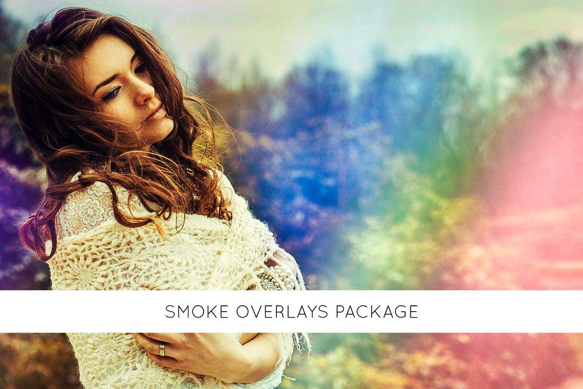 Smoke overlays package