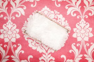 Newborn Backdrop - Pink Floral