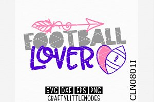 Football Lover SVG
