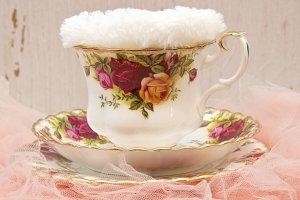 Newborn Background - Teacup