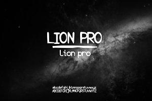 Hand Drawn Font | Lion PRO