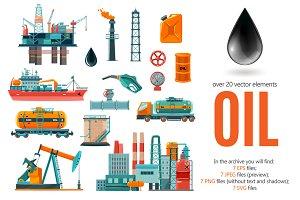 Oil Flat Set