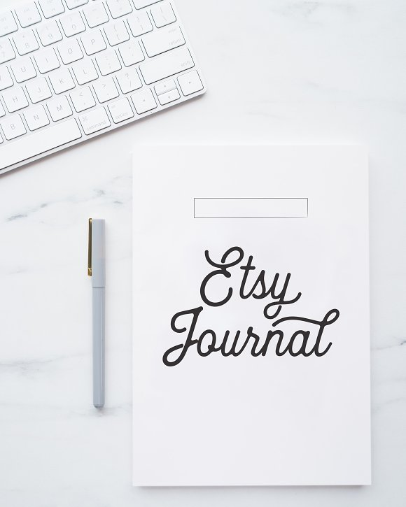 Fully Editable Etsy Journal in Stationery Templates - product preview 6