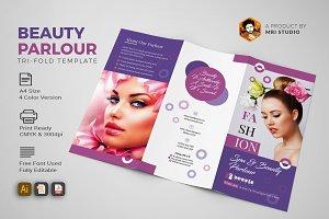Beauty Parlour Trifold