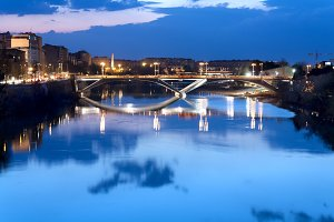 Bridge over the river Ebro