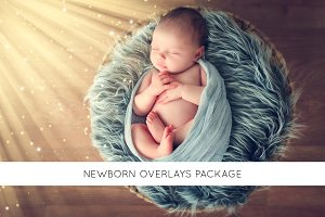 Newborn overlays package