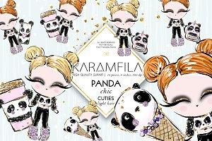 Cute Panda Fashion Dolls | Blonds