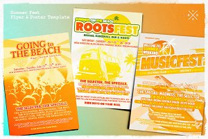 Summer Music Fest Flyer & Poster
