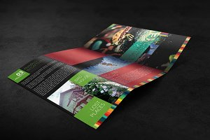 Tri Fold Brochure Mockup 05