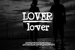 Hand Drawn Font | Lover font