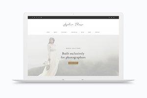 Sophie - Portfolio / eCommerce Theme