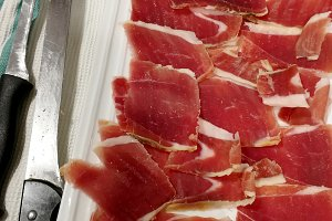 Ham cut spanish style