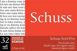 SchussSerifPro No.32 (1 Font)