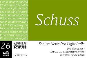 SchussNewsProLightIta No.26 (1 Font)