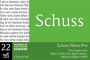 SchussNewsPro No.22 (1 Font)