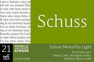 SchussNewsProLight No.21 (1 Font)