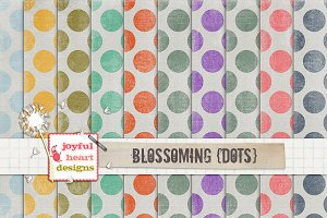 Blossoming {dots} - 20% off! :)