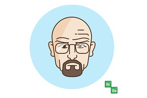 Walter White / Breaking Bad Vector