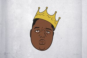Biggie Smalls Vector Illustration