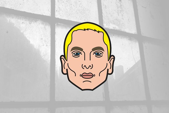 Eminem Slim Shady Vector