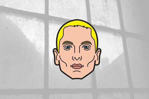 Eminem / Slim Shady / Vector in Illustrations