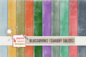 Blossoming {solids} - 20% off! :)