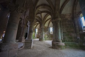carboeiro monastery in lalin spain