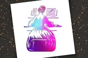Music. Piano.