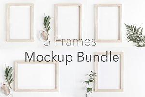 Mockup Frames Bundle