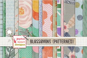 Blossoming {patterned} 20% off! :)