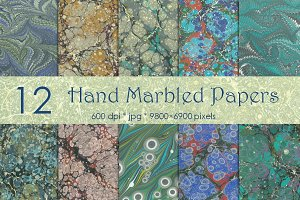 Marble Colorful Papers