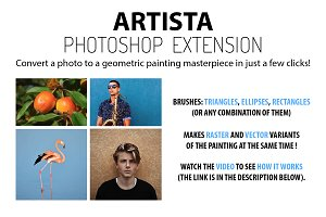 Artista Photoshop Extension