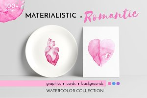 -60% ST.VALENTINE'S DAY watercolor
