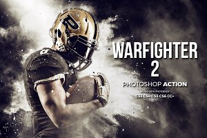 Warfighter 2 Photoshop Action