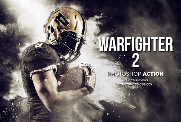 Warfighter 2 Photoshop Acti-Graphicriver中文最全的素材分享平台