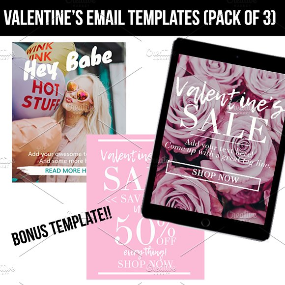 Valentine's Day Email Templates in Email Templates