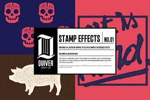 Distressed Stamp Effects